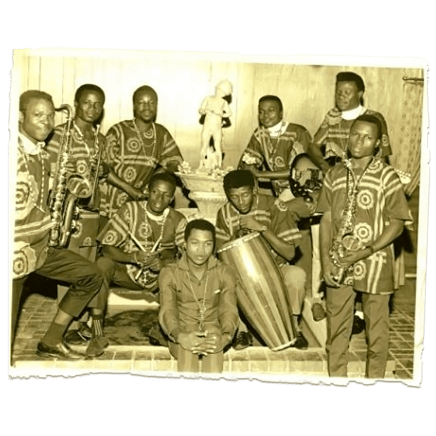 Fela Kuti's High-life Jazz Band